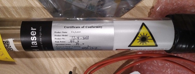 File:K40 KH Laser Tube Certificate of Conformity Label Top